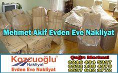 Mehmet Akif Evden Eve Nakliyat Taşıma Firması - İstanbul Mehmet Akif Nakliyat Şirketi