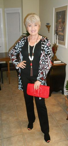 Add one bold accessory and a colorful bag which does not match your shoes.