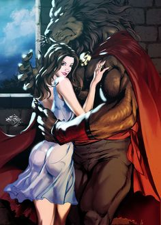 The Beauty and the Beast by ~MatiasSoto on deviantART