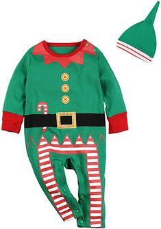 Baby Christmas Rudolph Reindeer Hooded Sleepsuit Romper Newborn to 18 Months