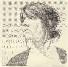 Typewriter Art: 'Looking Forward' by Leslie Nichols (2010) / A Visual History of Typewriter Art from 1893 to Today | Brain Pickings