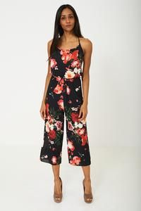 ab048b57585 Mahoganyfair. Wide Leg Floral Jumpsuit – Mahoganyfair