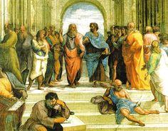 A História da Escola - A Escola de Atenas -Rafael 1508