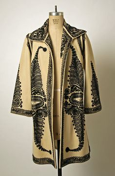 Romanian coat via The Costume Institute of the Metropolitan Museum of Art. Early 20th Century