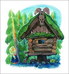 Russian folk tales for kids. Illustrator Ilya Savchenkov, 2011.