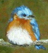 25 ideas for blue bird craft fun – Bird Supplies Bird Painting Acrylic, Watercolor Bird, Watercolour Painting, Painting & Drawing, Diy Painting, Afrique Art, Pintura Country, Bird Crafts, Bird Drawings