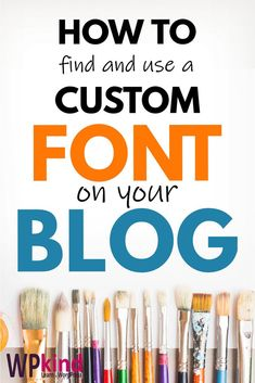Find out how to use a custom Google font on your WordPress blog with this tutorial. Enhance your blog design with this handy tutorial. Contains tips for choosing a font, how to use your selected font on your blog, tweak it with CSS styling, and how to select a Google font in your WordPress theme options. #wordpressdesign #wordpresstips #wordpresstutorials #wordpressforbeginners #wordpressthemes #bloggingtips #bloggingforbeginners Wordpress For Beginners, Learn Wordpress, Blogging For Beginners, Wordpress Theme, Wordpress Admin, Make Blog, How To Start A Blog, Heading Fonts, Google Fonts