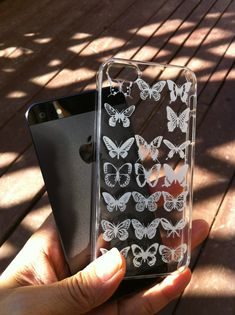 FLAT RATE SHIPPING Clear Case, iPhone 5s case,iphone 5c case,iPhone 4 case,iPhone 4s case, iPhone 5 case,made in Japan,butterfly on Etsy, $17.99