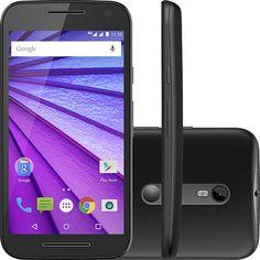 """Americanas Smartphone Motorola Moto G 3ª Geração Dual Chip Android 5.1 Tela Hd 5"""" 8gb 4g - R$753"""