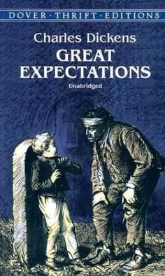 Great Expectations.  Every once in a while I pick up a classic - it makes me sound intelligent!  A little hard to follow some of the dialect, but an enjoyable read.