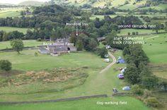 Bank House Farm campsite, Buxton - next to river