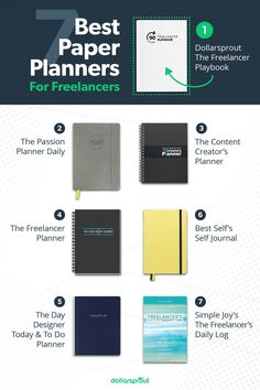 Check out these 7 best planners for freelancers. Keep your life and schedules on the right track. To Do Planner, Passion Planner, Make Money Blogging, How To Make Money, Blogging Ideas, Content Marketing, Affiliate Marketing, Business Planner, Business Tips