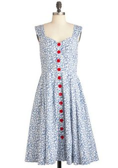 Brunch with Buds Dress in Wildflowers, #ModCloth