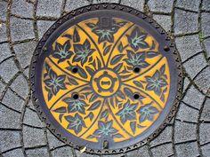 Ichinomiya city Aichi manhole cover (愛知県一宮市のマンホール)