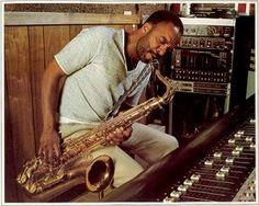 El saxofonista de Filadelfia Grover Washington Jr.