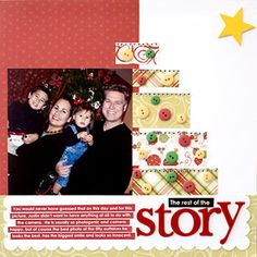 Quick & Easy Christmas Scrapbook Pages