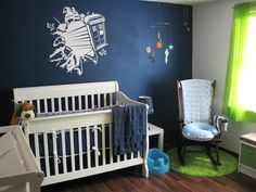 Can I see your geeky nurseries? (here's our Doctor Who theme!) - Geeky Mom Underground - BabyCenter