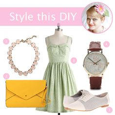 How exactly does one incorporate a bold flower headband in a real-life outfit? See my take in a new series on Hands Occupied, Style this DIY. #crafts #diy #style