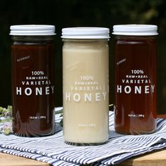 Raw Honey Collection, $40, now featured on Fab.  Honey For Your Tea  Buzz-Worthy Honey Varietals