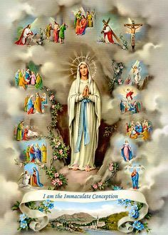 Catholic Pictures, Pictures Of Jesus Christ, Mama Mary, Blessed Mother Mary, Blessed Virgin Mary, Catholic Art, Religious Art, Religious Icons, Catholic Store