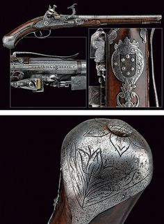 A snaphaunce flintlock pistol from the property of the House of Medici,dating: circa 1700  provenance: Brescia .