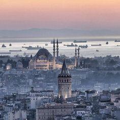 Stunning view..♥️ Istanbul Turkey  #visitistanbul #istanbullovers #istanbulcity #turkey