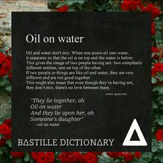 bastille oil on water audio