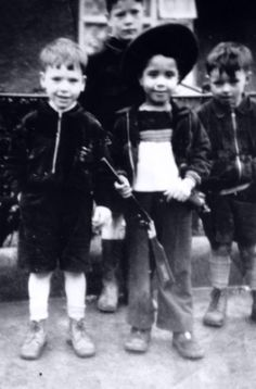 PHIL LYNOTT AND FAMILY