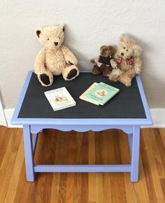 Top is a Chalkboard! How fun! Color is Luscious Lavender. Christmas Gifts For Kids, Christmas Shopping, Kid Table, Chalkboard, I Shop, Teddy Bear, Toys, Lavender, Fun