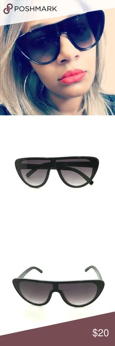 aa62c887e2b0 I just added this listing on Poshmark  Seeing Visions Aviator Sunglasses -  Black Frame.
