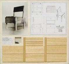 """Enzo Mari, Autoprogettazione, """"self-design"""" « J'ai pensé que si les gens étaient encouragés à construire de leur main une table, ils étaient alors à même de comprendre la pensée cachée derrière celle-ci. »"""