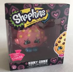 Funko Shopkins Vinyl Figure Series 1 PINK KOOKY COOKIE Limited Chase Edition new  | eBay