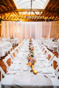 If you ask me, lofts are kind of the new barn. Take an old warehouse, pretty up those exposed beams + industrial windows and boom! You've got a killer venue to tie the knot. It's exactly the route this Chicago couple went, and thanks to Jayne Weddings & Events,Art Of Imagination,Re:find Joy,Toast And Jamand others,the […]