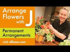 J shows how to make a Permanent Silk Flower Arrangement using a Ceramic container and Styrofoam cube as a base. J shares the advantages of pre-cut Styrofoam . Easter Flower Arrangements, Faux Flower Arrangements, Easter Flowers, Fake Flowers, Silk Flowers, Graveside Decorations, Flower Tower, Rose Centerpieces, Flower Video