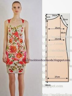 Simple patterns of summer dresses and sarafans Sewing Patterns Free, Sewing Tutorials, Clothing Patterns, Dress Patterns, Free Sewing, Diy Clothing, Sewing Clothes, Fashion Sewing, Diy Fashion