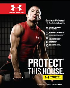 Under Armour Protect This House Poster lays potato chi...