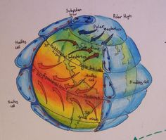 The Global Winds--good illustration to explain the circles.