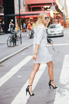 How To Wear SHIRT DRESSES?