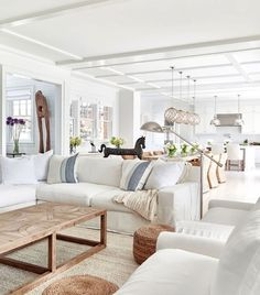 Monday Pins It's time for your Monday Coastal Home pins! We've got five fresh pins ready for your coastal Pinterest boards. We're talking cottage looks and beach house feels. Pin …  #LivingRoomRemodeling