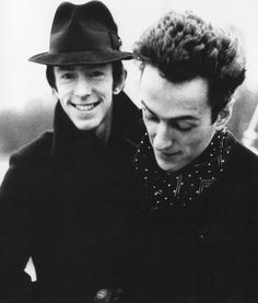 superblackmarket:  Topper Headon and Joe Strummer photographed by Pennie Smith (1979)