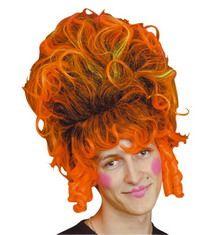 orange dame wig