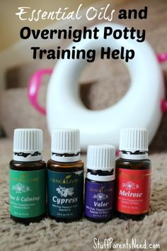 essential oils and potty training