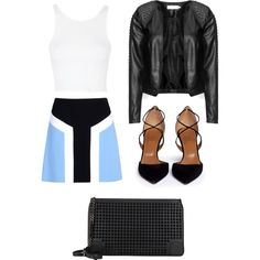 Untitled #113 by campbell765 on Polyvore featuring polyvore, fashion, style, Topshop, Zizzi, Emilio Pucci, Aquazzura and Christian Louboutin