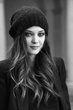I wish I could wear hats like this. Or make my hair look like that.