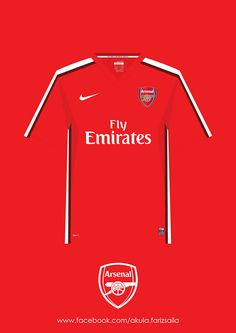 My appreciation to my favourite football team since i was 10 years old. Arsenal kit collection from season 2005/2006 to 2013/2014 and includes Arsenal next season kit, sponsor by Puma even its still not official yet. COYG!