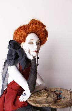 """Купить """"Винил"""""""" - авторская кукла, художественная кукла, искусство куклы, Кадацкая, любовь, танцы, ретро"""
