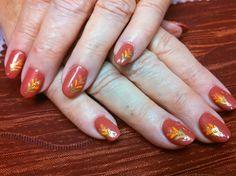 Coper Autumn by aliciarock - Nail Art Gallery nailartgallery.nailsmag.com by Nails Magazine www.nailsmag.com #nailart
