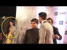 SHOCKING ! Ranveer Singh IGNORES Rekha at Filmfare Awards 2016.