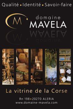 """Encart publicitaire """"Domaine Mavela""""."""