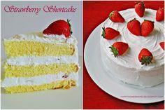 Happy Home Baking: Strawberry Shortcake, Japanese Style